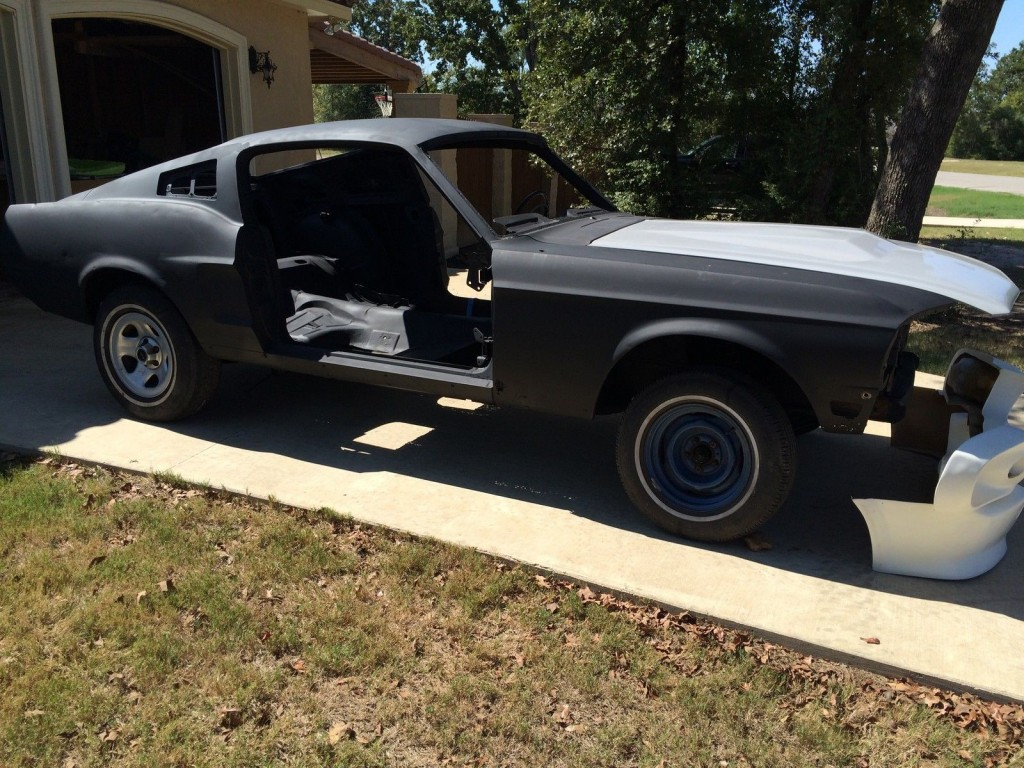 1968 Ford Mustang Fastback Project  Eleanor/Bullitt