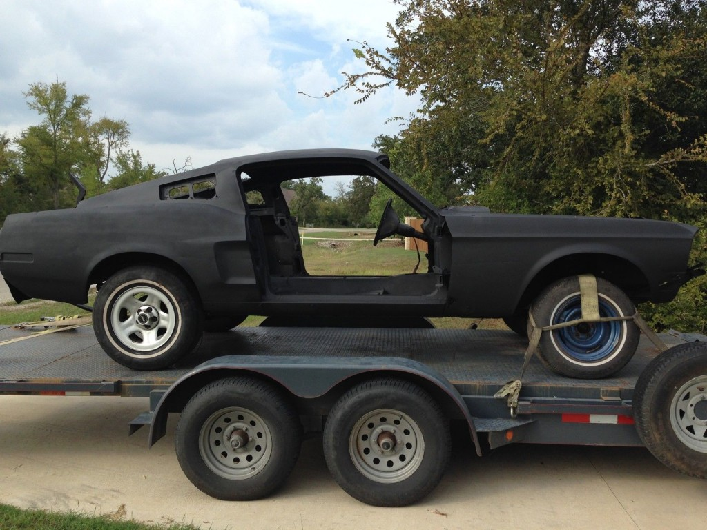 1968 ford mustang fastback project eleanor bullitt for sale. Black Bedroom Furniture Sets. Home Design Ideas