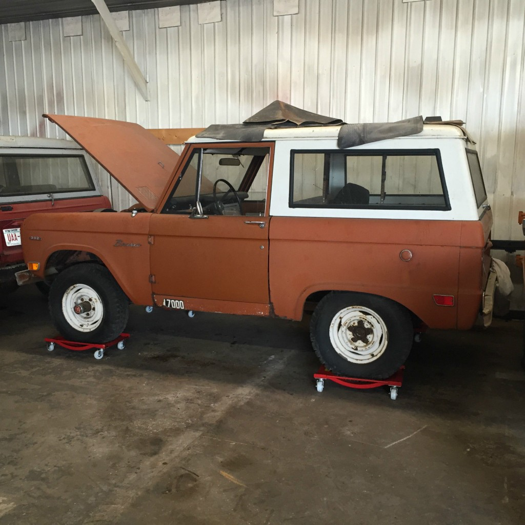1969 Ford Bronco Project Low Miles