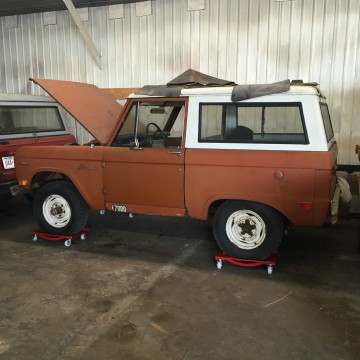 1969 Ford Bronco Project Low Miles for sale