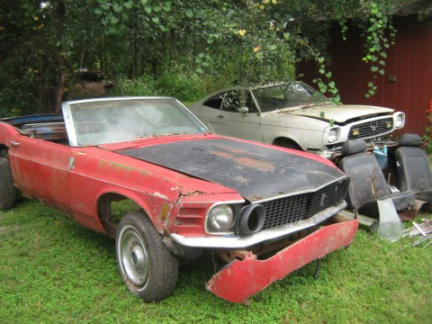 1969 Ford Mustang Convertible for sale