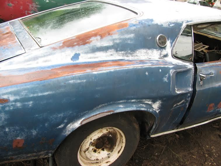 1969 Ford Mustang R code 428 cj Roller Project car