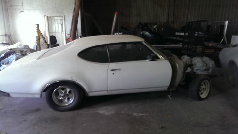 1969 Oldsmobile Cutlass S for sale