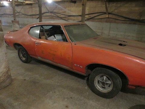 1969 Pontiac GTO Judge PHS Documented 4 Speed Complete Project CAR for sale