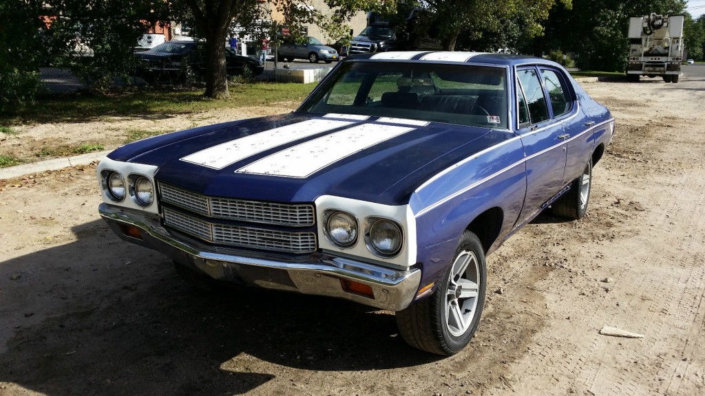 1970 Chevrolet Chevelle Great Project OR Parts CAR