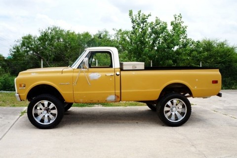 1972 Chevrolet C10 Running Project Truck 4X4 for sale