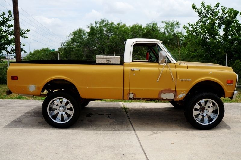 1972 Chevrolet C10 Running Project Truck 4X4