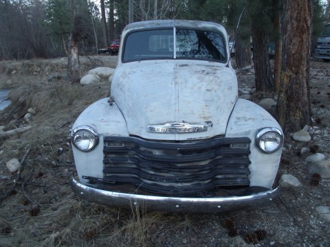 1951 Chevrolet Rare 3600 Series 3/4 Ton Pickup Truck   Great Restoration Project for sale