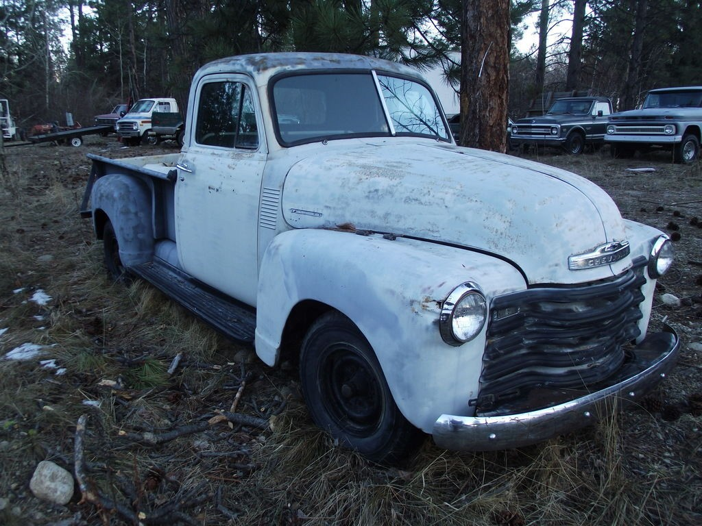 1951 Chevrolet Rare 3600 Series 3/4 Ton Pickup Truck   Great Restoration Project