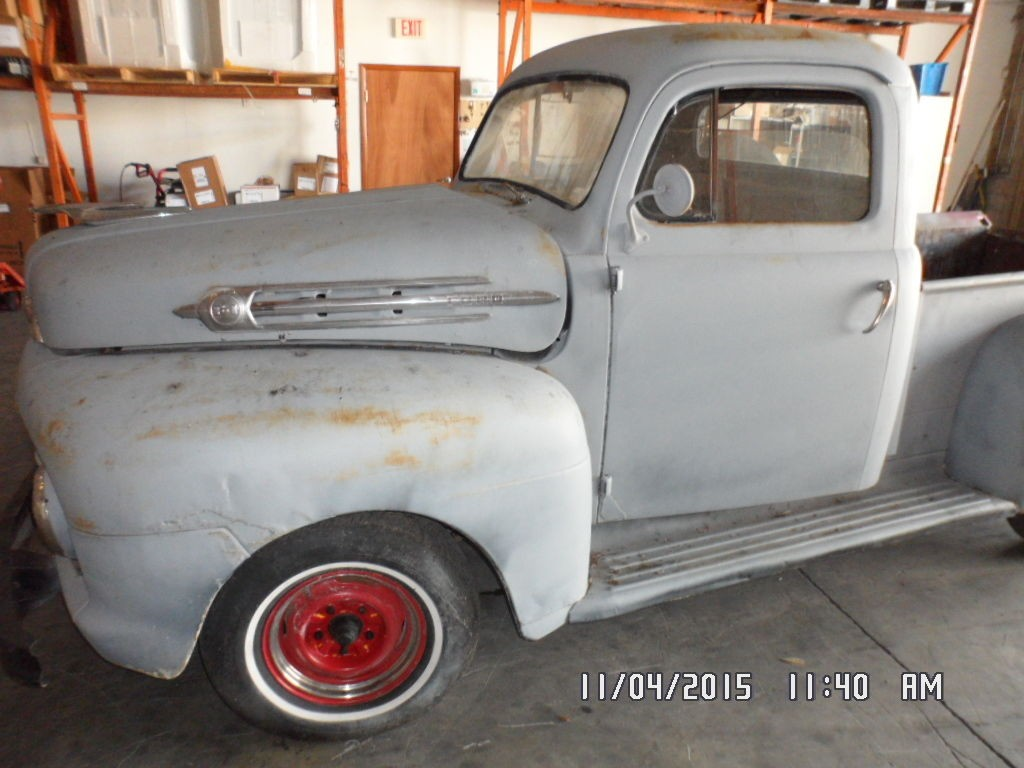 1951 Ford F1 Pickup Project