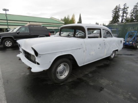 1955 Chevrolet 210 Post Small Block Th400 Project Car for sale