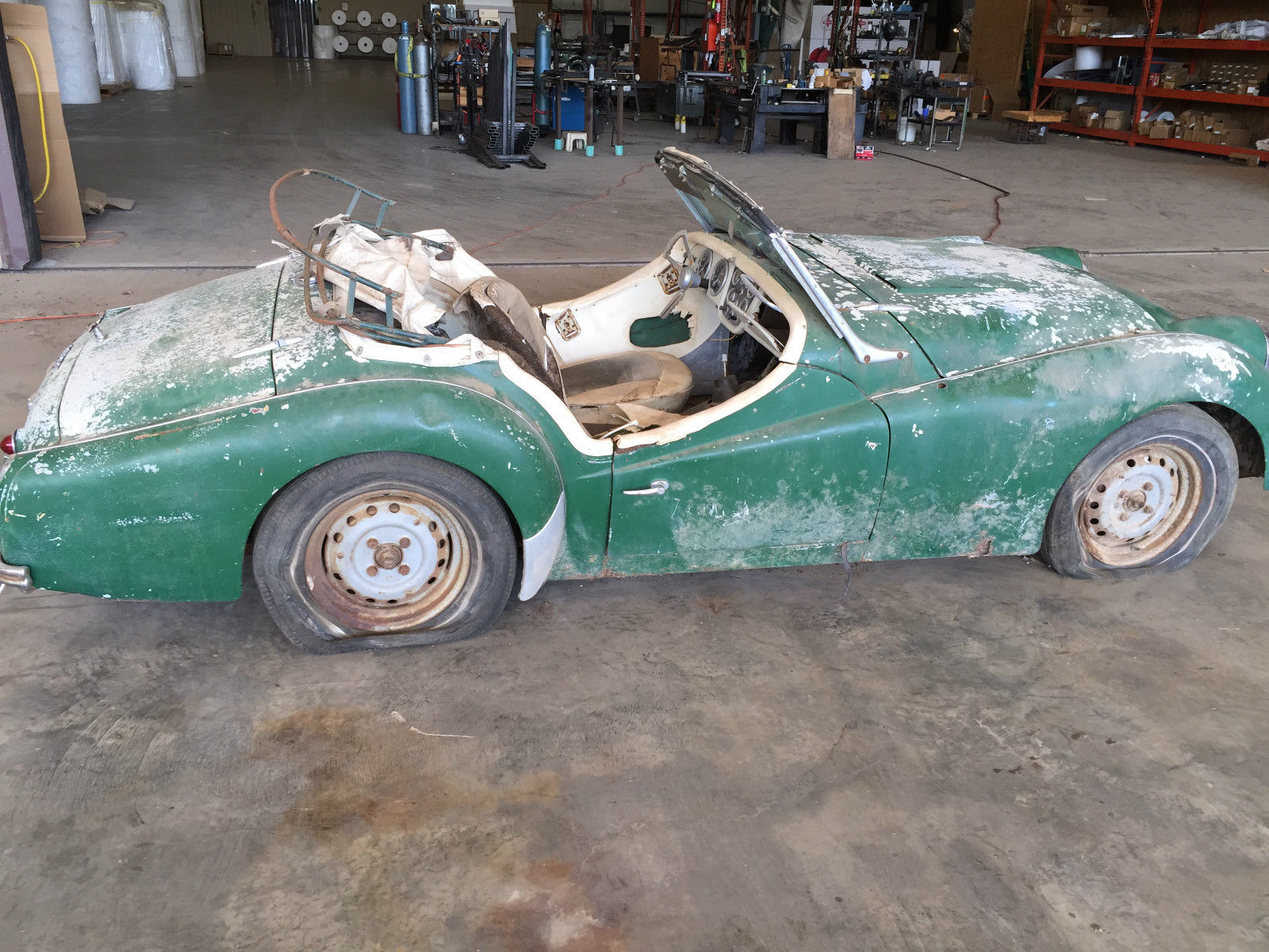 1958 Triumph Tr3a Project Car For Sale: 1961 Triumph TR3 Roadster Project Restoration For Sale