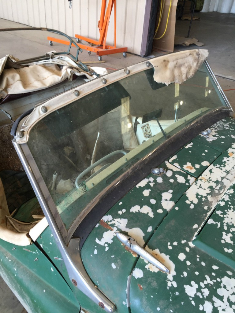 1961 Triumph TR3 Roadster Project Restoration