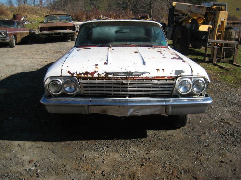 1962 chevrolet impala ss super sport restoration project for sale. Black Bedroom Furniture Sets. Home Design Ideas