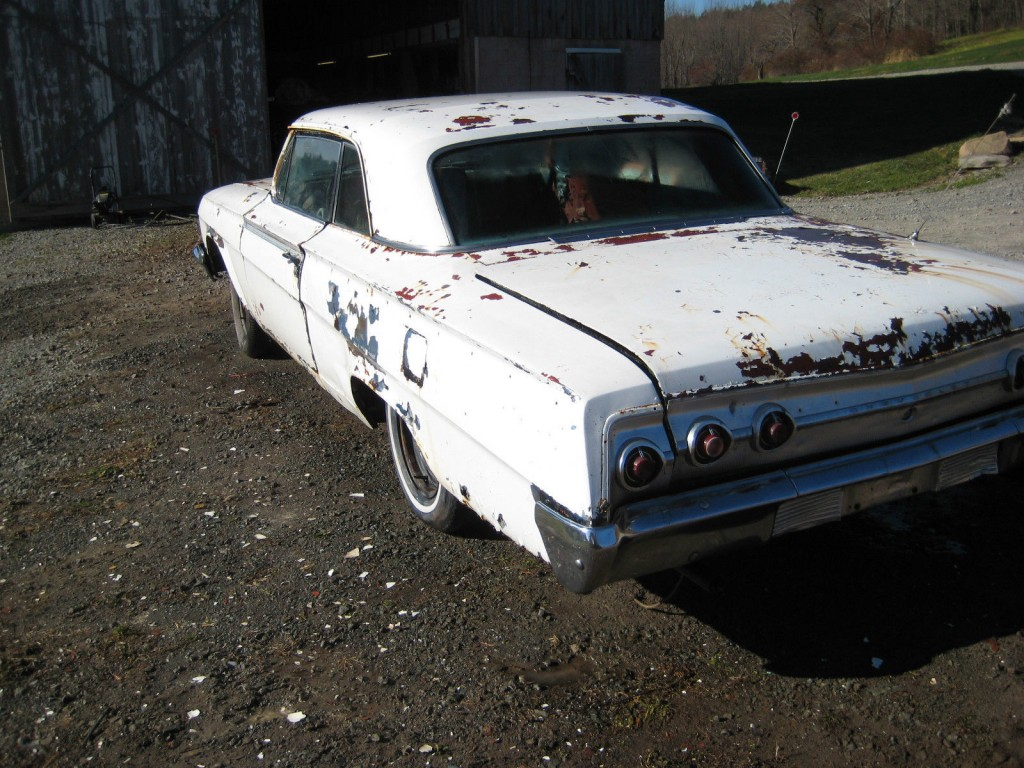1962 chevrolet impala ss super sport restoration project for sale. Black Bedroom Furniture Sets. Home Design Ideas