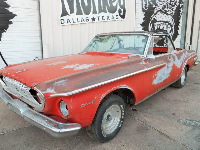 1962 Dodge Dart 440 318 V8 Convertible Project For Sale