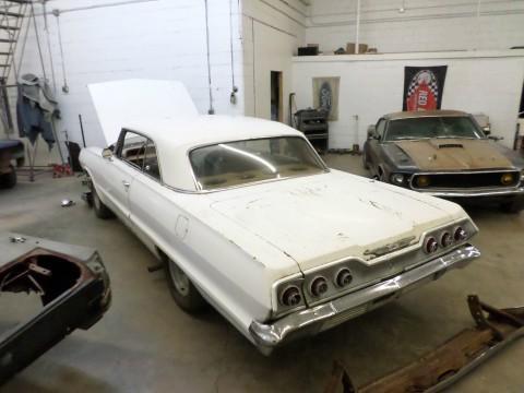 1963 Chevrolet Impala V8 Hotrod Project Car for sale