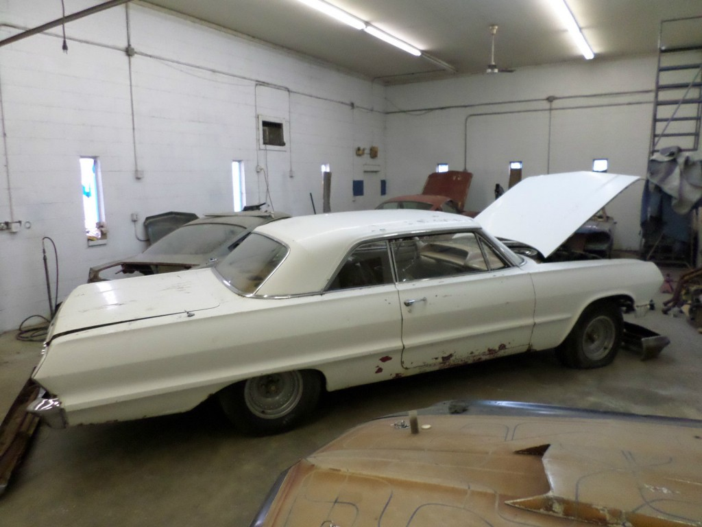 1963 Chevrolet Impala V8 Hotrod Project Car