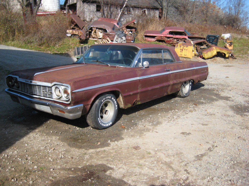 1964 Chevrolet Impala SS Super Sport 327 4 Speed Restoration PROJECT