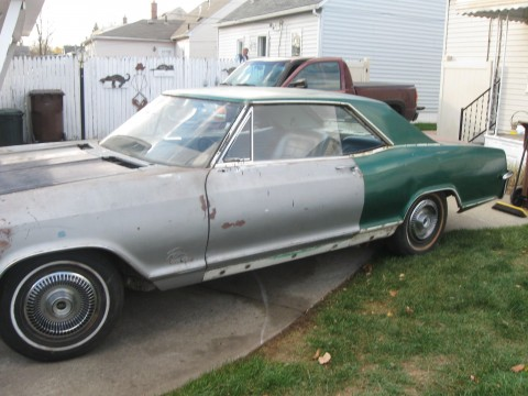 1965 Buick Riviera Base Hardtop 2 Door 6.6L Project or Parts for sale