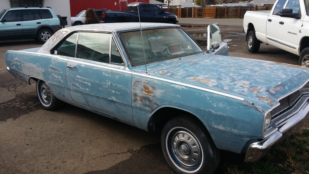1970 Dodge Charger Rt Project Car Overall Solid Car For Sale: 1967 Dodge DART GT Super Solid CAR Straight PROJECT For Sale