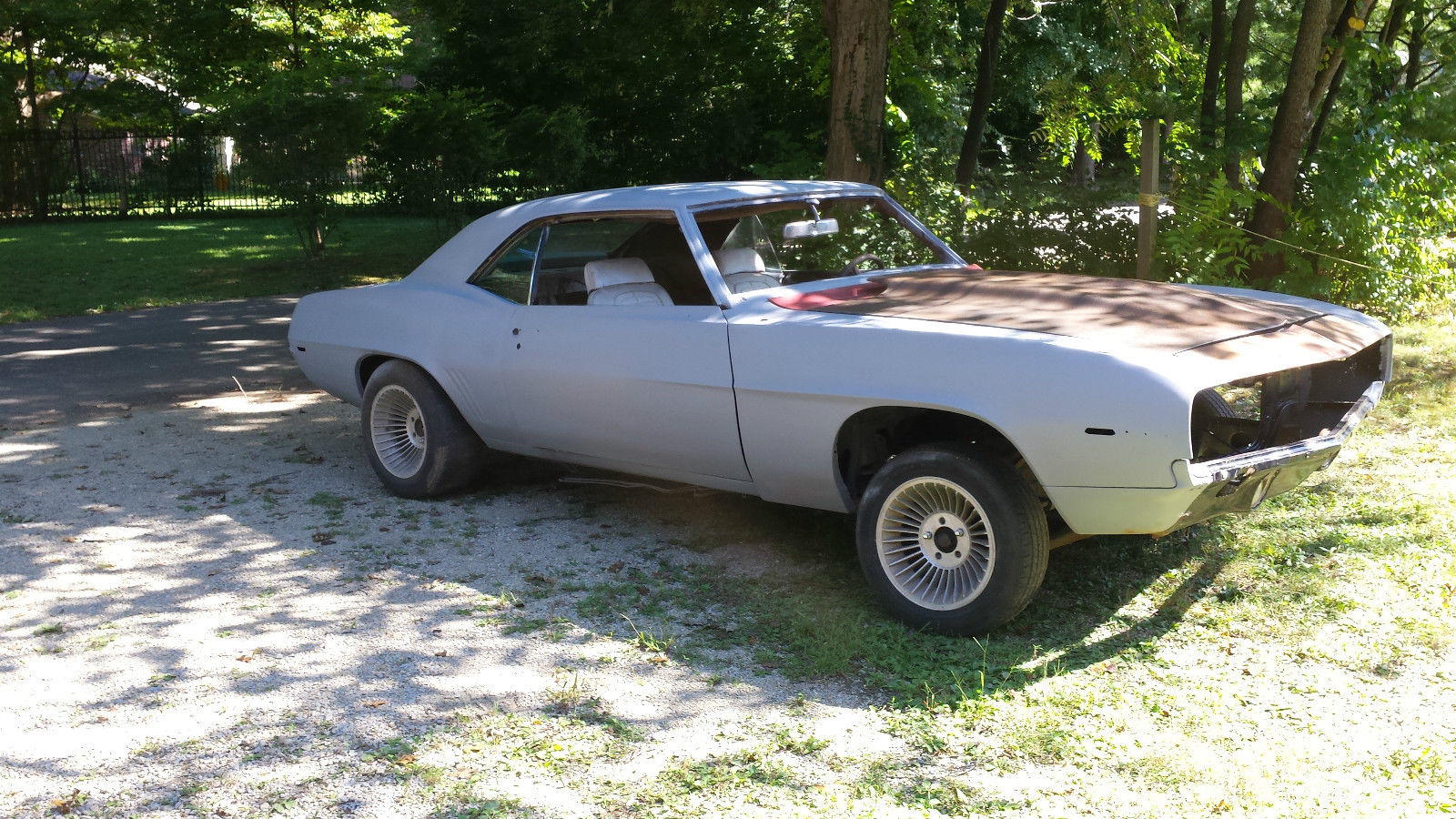 1969 chevrolet camaro project for sale. Black Bedroom Furniture Sets. Home Design Ideas