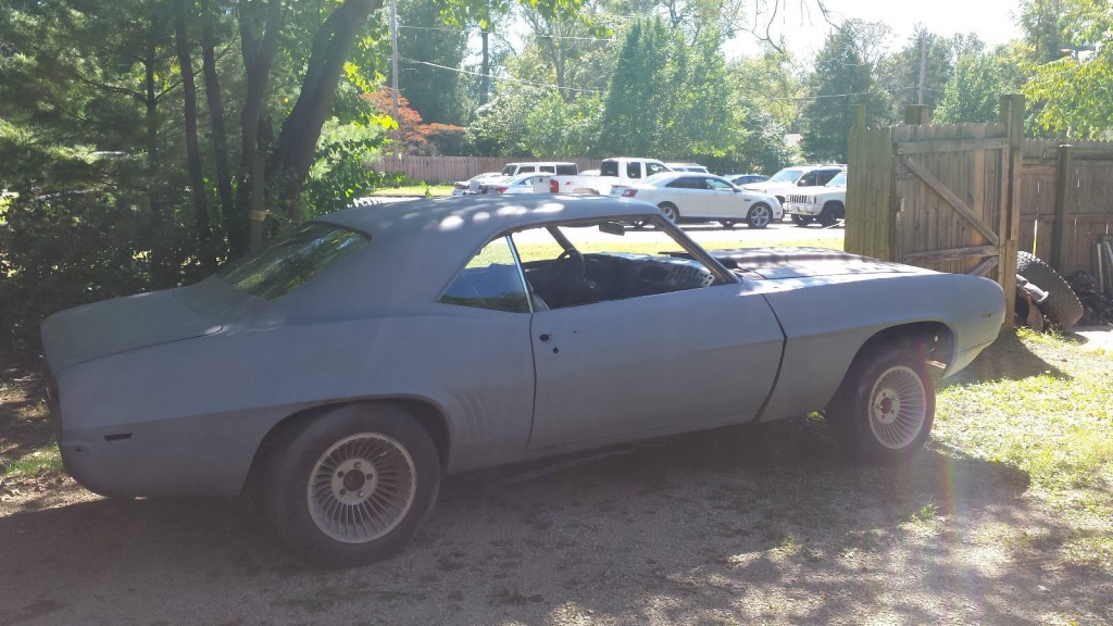 Chevrolet Camaro Project Project Cars For Sale X