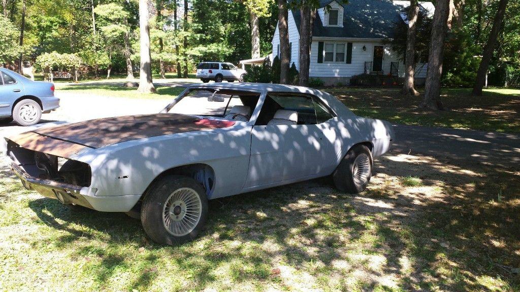 1969 Chevrolet Camaro project