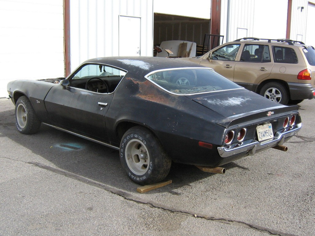 1970 Chevrolet Camaro Z28 4 speed project