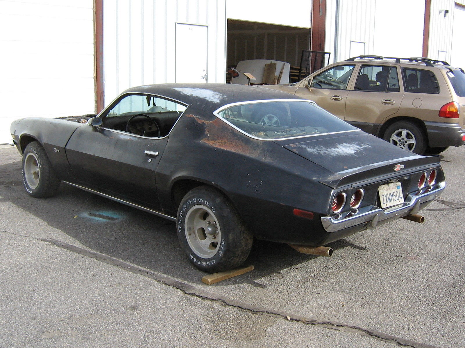 1970 chevrolet camaro z28 4 speed project for sale. Black Bedroom Furniture Sets. Home Design Ideas