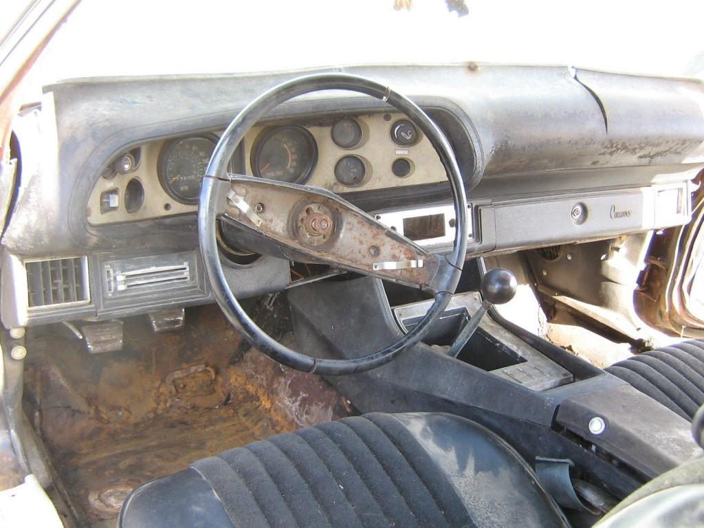 1970 Chevrolet Camaro Z28 4 speed project