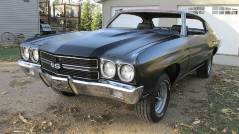 1970 Chevrolet Chevelle SS 454 4 Speed Coupe Project for sale