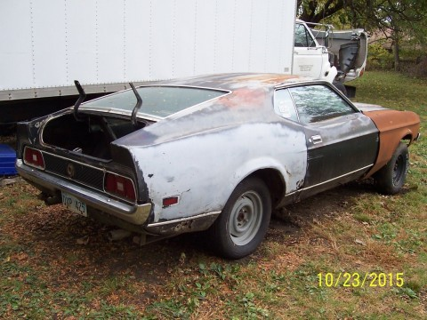 1972 Ford Mustang Mach I Project Car 351 for sale