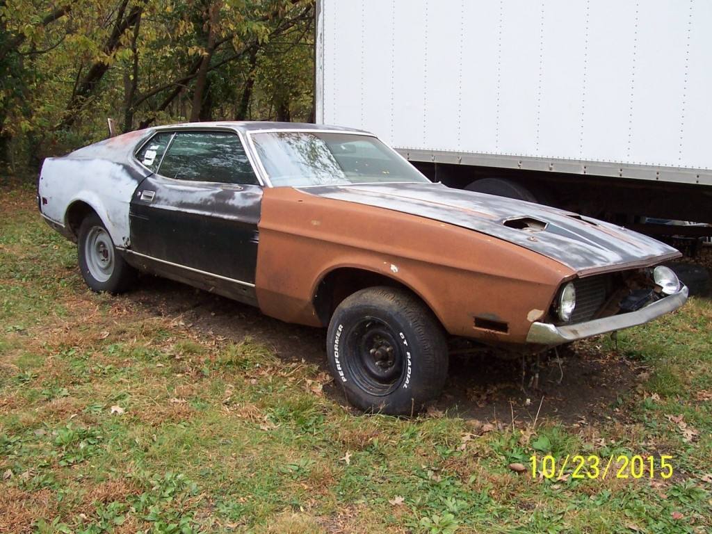 1972 Ford Mustang Mach I Project Car 351