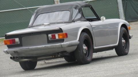 1973 Silver Roadster Convertible Restored Rebuilt Motor Light Project for sale