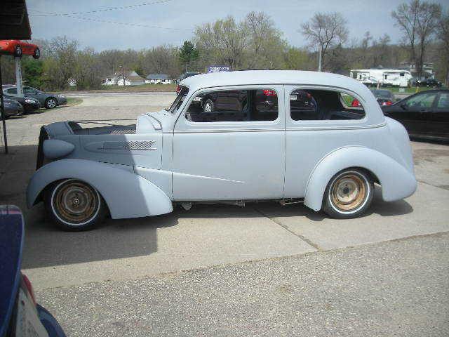 1937 Dodge Coupe Street Rod Project Car For Sale: 1937 Chevy Street Rod Project For Sale