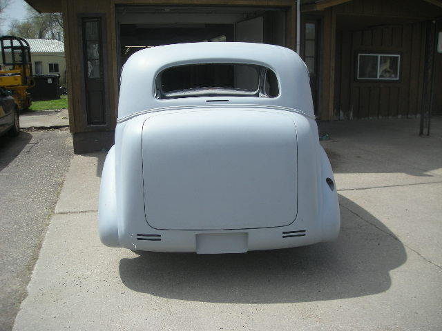 1937 Chevy Street rod project