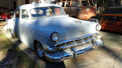 1954 Matching Numbers Chevy BEL AIR Custom Lowrider FULL Hydraulics PROJECT for sale