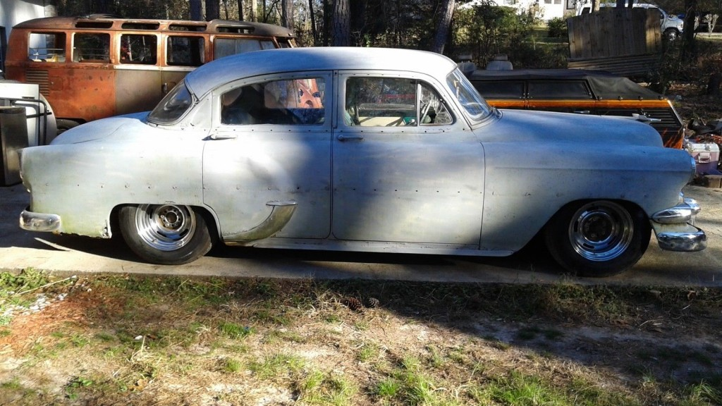 1954 Matching Numbers Chevy BEL AIR Custom Lowrider FULL Hydraulics PROJECT