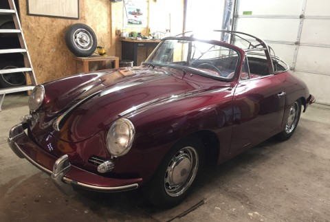 1964 Porsche 356 C   Running and Driving Project for sale