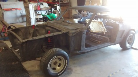 1966 Ford Mustang Shell and Parts Project Car for sale