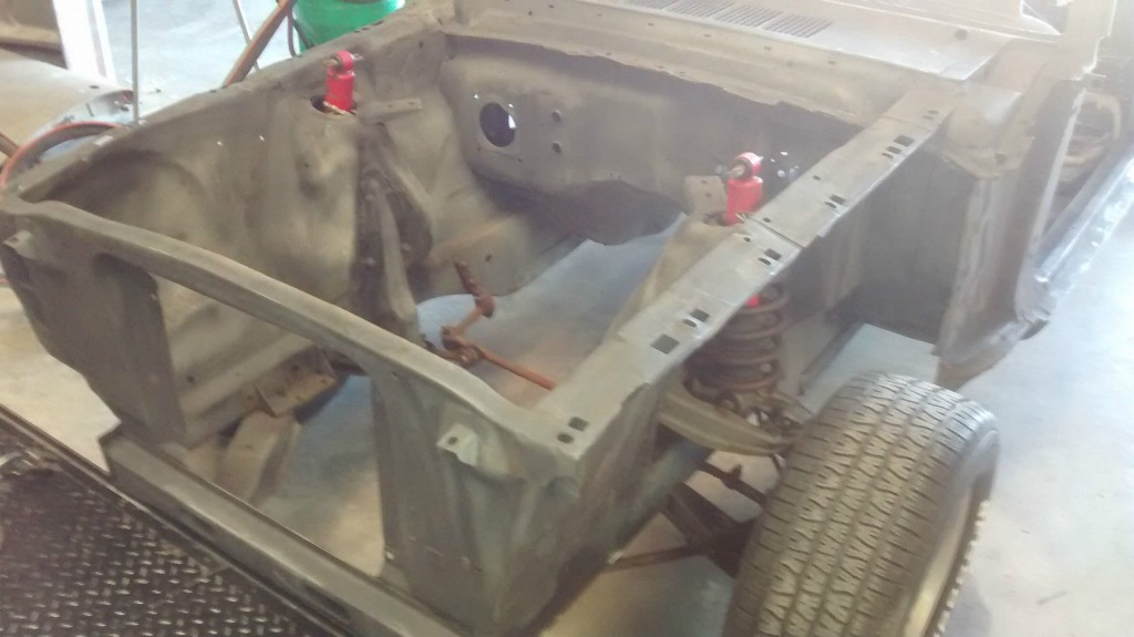 1966 Ford Mustang Shell and Parts Project Car