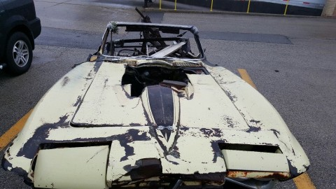 1967 Chevrolet Corvette big block project/parts for sale