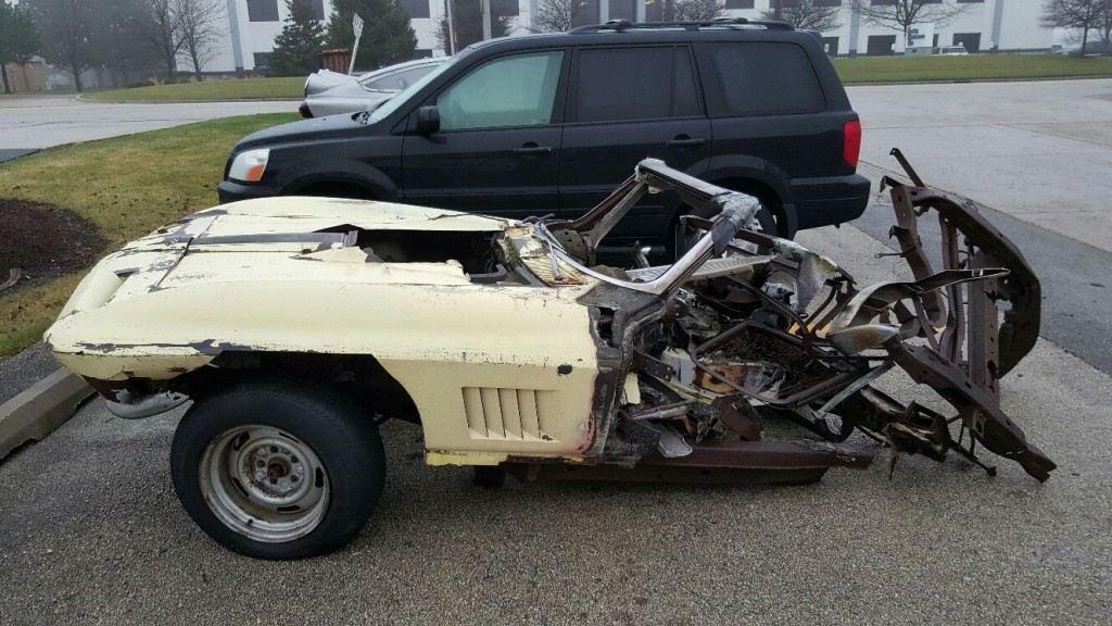 1967 Chevrolet Corvette big block project/parts