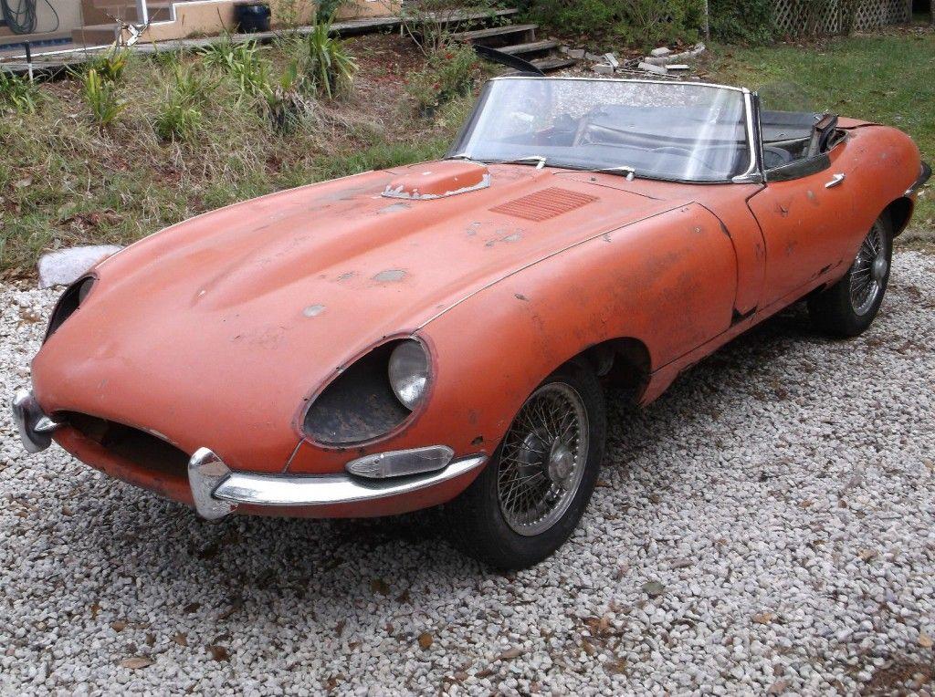 1967 Jaguar Xke 4 2 E Type Series 1 Roadster Ots Barn Find