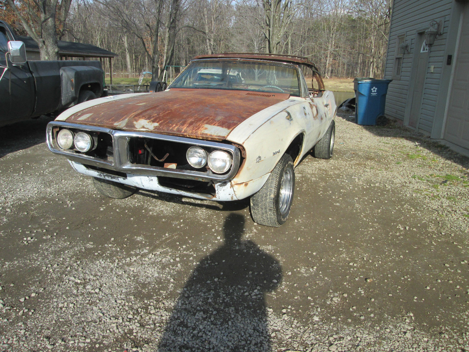 1967 Pontiac Firebird Convertible Project Car for sale
