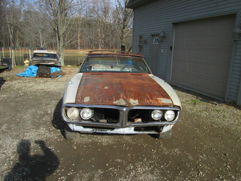 1967 pontiac firebird convertible project car for sale. Black Bedroom Furniture Sets. Home Design Ideas