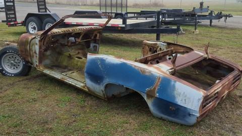 1969 Pontiac Firebird Convertible Project Car for sale