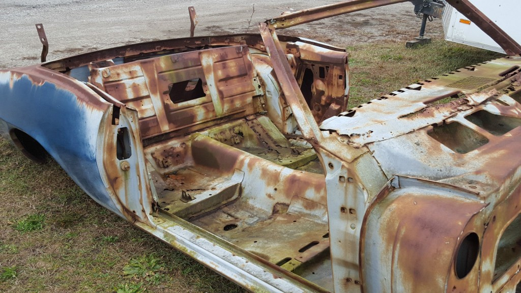 1969 Pontiac Firebird Convertible Project Car