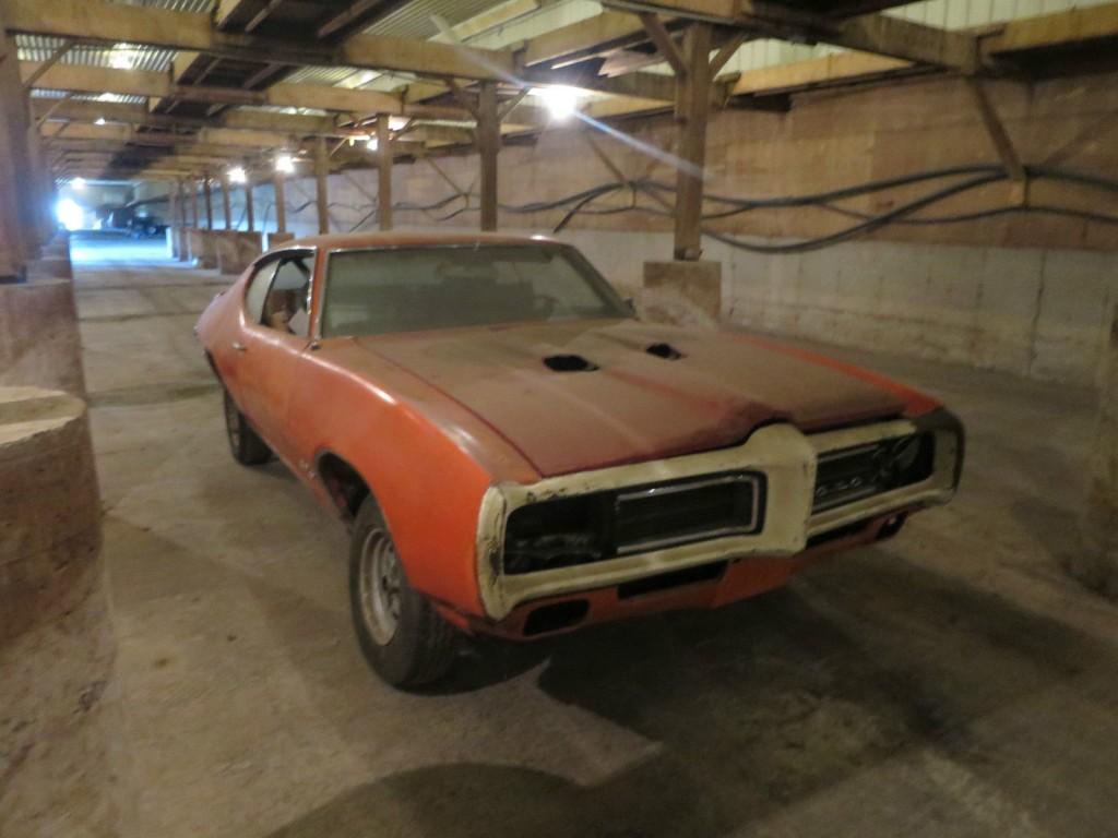 1969 Pontiac GTO Judge PHS Documented 4 Speed Complete Project CAR